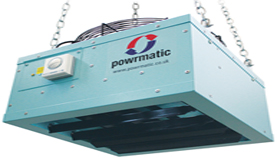 Powrmatic industrial heat recovery unit